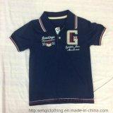 100% Cotton Boy Sport Polo Shirt Sq-6335