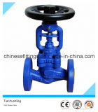 DIN Bellow Ductile Iron Flange Globe Valve