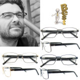 New Arrival Optical Frames Italy Optical Frames of Metal Stock Acetate Branded Eyewear in China