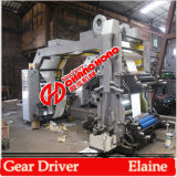 4 Color Double Winder Flexographic Printing Machinery