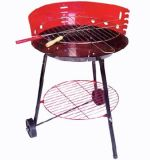 Protable BBQ Grill /BBQ Stove with Wheels (CL2C-ADJ03BL)