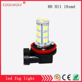 Factory Direct Sales LED Front Fog Lamps H8 H11 18SMD LED Fog Light Bulbs Anti Fog Lamp High-Power