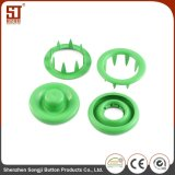 Custom Made Round Metal Prong Snap Simple Button for Jacket