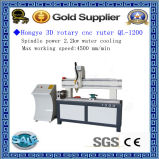 Jinan Factory Supply 3D Rotary CNC Router (QL-1200)
