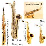 Alto Gold Saxophone (Sliver Keys)