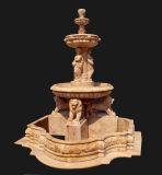 Stone Lion Statuary Fountain (FNT081)