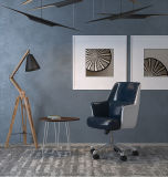 Soft Executive Chair with Leather Cover for Office