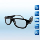 Touchteck 720p Real HD Video Camera Glasses, Old Fashion Design!