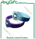 Silicon Wristband with Customized Size and Logo