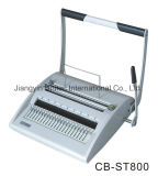 Manual Office Comb and Wire Book Binding Machine CB-St800