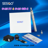 New Seego Best Vaping G-Hit K1 + Battery Kit with Glass Tank Pen