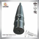 China Carbon Steel Casting Gear Shaft with CNC Machining