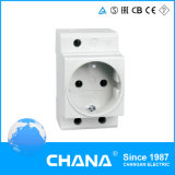 Ce and RoHS 10-25A Germany Type Modular Socket