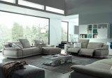 Living Room Furniture Metal Legs Reception Sofa (UL-NSC013)