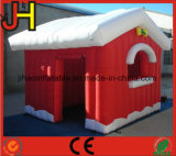 New Finished Merry Christmas Inflatable Santa′s Grotto House with Factory Lower Price