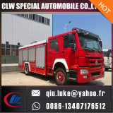 HOWO 3000gallons 12cbm Fire Extinguisher Tank Fire Fighting Truck for Bid Large Quantity Supply