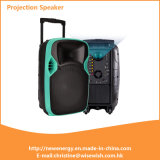 Manufacturer Multi-Functional Battery Active Trolley Speaker with Projector