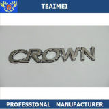 126mm ABS Plastic Chrome Car Decal Car Emblem Badge for Crown