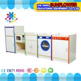 Children Home Life Role-Play School Wooden Furniture Cabinet
