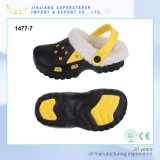 EVA Warm Kid Clog Shoes with Insole Fur