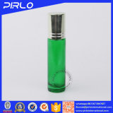10ml Green Glass Roll on Bottle for Perfume&Essential Oil with Aluminum Lid