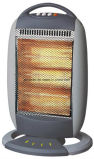 1200W Halogen Heater with Tip-Ove Switch