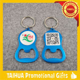 Promotion Metal Bottle Opener with Keychain (TH-06923)