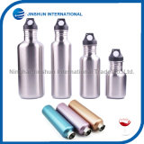 Classic Sport Single Wall Stainless Steel Water Bottle with Sport Cap