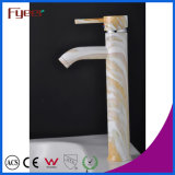 Fyeer High Body Chrome Plated Lacquered Single Handle Brass Wash Basin Faucet Sink Water Mixer Tap Wasserhahn