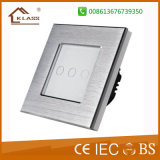 Hot Sale of 3gang 2way Hotel Light Touch Switch