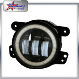 "4"" Round Fog Light with Halo Ring for Jeep 30W"