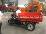 Mini Dumper Truck for Mine/3 Wheels Electric Tricycle/Cargo Dumper Truck Price