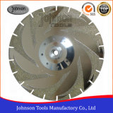 Double Sides Maple Leaves Electroplated Diamond Saw Blades