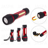 Aluminum COB LED Flashlight (12-1Y1707)