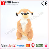 China Manufactory Plush Stuffed Animals Soft Meerkat Toy