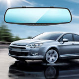 Dual Camera Car DVR Camera Rearview Mirror Dash Cam