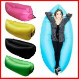 Factory Wholesale Nylon Lamzac Hangout Inflatable Sleeping Bag
