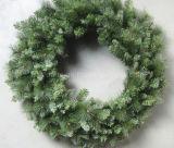 90cm Pre-Lit Christmas Wreath