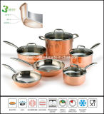 Copper Clad Triply Cookware Set
