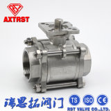 Ss304/Ss316 Stainless Steel Floating 3PC Ball Valve