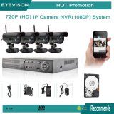 1080P HDD 4 Camera Security System NVR Network Video Recorder