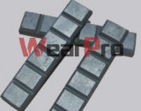700 Bhn-63 RC Domite White Iron Wear Chocky Bars
