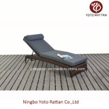 Outdoor Wicker Lounge with Steel Frame (1216)