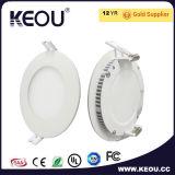 6W 9W 12W 15W 18W LED Light Panel Circular