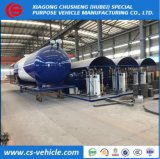 20000 Liters LPG Gas Filling Tank Skid Station 10tons with LPG Filling Scale or Dispenser