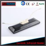 White Pad Shape Infrared Ceramic Heater Radiator