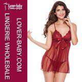 Wholesale Sexy Sleep Lingerie Lady Underwear (L2442-1)