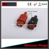 380V Silicone Plug with Silver-Plated Plug Core