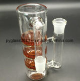 Red Glass Water Pipe Hose Filter Smoking Accessory