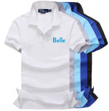 Hot Sale Cotton Fashion Polo Shirt with Customized Logo